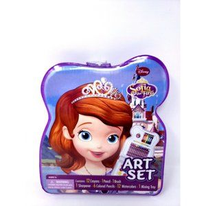 Disney Sofia The First Art Set 34pc New